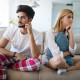 Unhappy married couple on verge of divorce due to impotence and jealousy
